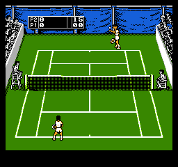 Jimmy Connors Tennis - In-game