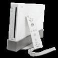 Nintendo – Herní konzole sedmé generace od Nintenda. Wii je přímý nástupce GameCubu, se kterým je zpětně kompatibilní.