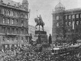 Praha – 28. října 1918 na Václavském náměstí v Praze u pomníku svatého Václava vyhlásil kněz Isidor Zahradník (* 25. června 1864 Hostačov, + 19. února 1926 Vídeň) samostatný Československý […]